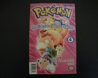 Pokemon - The Electric Tale of Pikachu Comic Issue 4