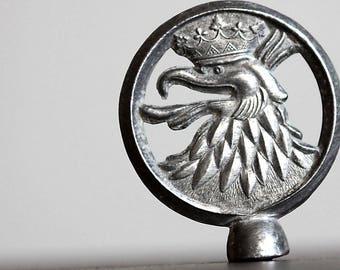 Vintage Bicycle Emblem.Eagle Head Vintage, Bicycle * rare * vintage * fixi *