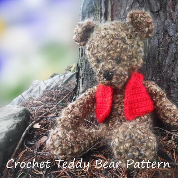 Elegant Free Crochet Teddy Bear Pattern | Crochet teddy bear ... | 571x570