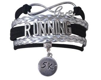 Running Gift -Run Bracelet, Running Bracelet –Runner Gift - Running - Perfect for Runners, Running Coaches & Runner Team Gifts
