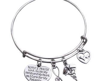 Nurse Gift -Nurse Bracelet –Nurse Gift - Nursing - Perfect for Nurses and Nurse Gifts