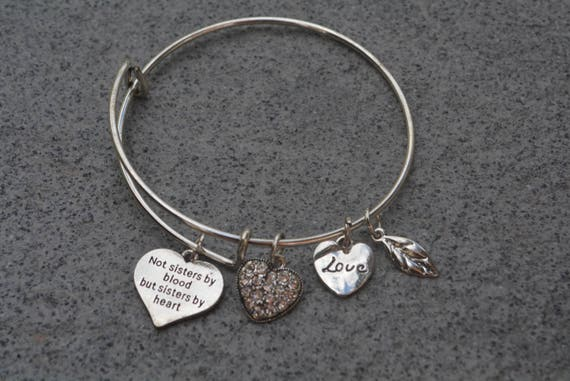 Best Friends Bracelets Not Sisters By Blood But Sisters By Etsy