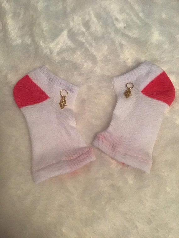 9d61e82382185 Thong Sandal Socks/Flip Flop Socks/Spa Socks/Yoga Socks/Toeless  Socks/Pedicure Socks