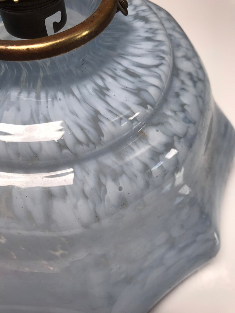 Blu vetro soffitto ombreggiatura tono ombra con Galleria fViY4L8s
