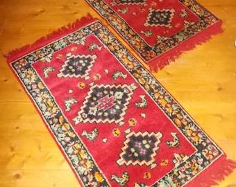Tapis petite paire en laine vintage Bahia 79ff3bbb42f