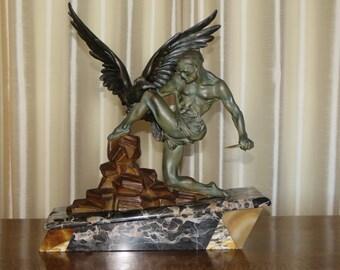 Art Deco sculpture La Chasse,1940