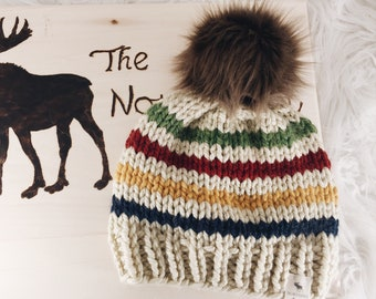 Hudson Bay Knitted Hat 65c43a10581