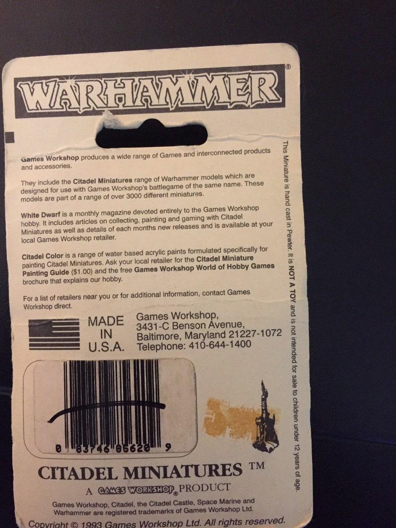 OOP Warhammer Halfling militia spearman