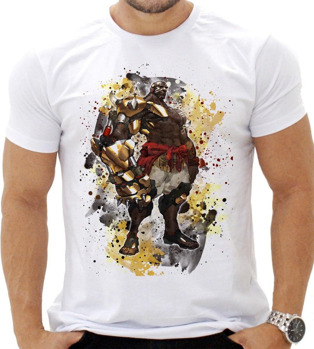 Overwatch Doomfist, jeu Tee, Overwatch Overwatch Overwatch TShirt, idée cadeau, Overwatch T-Shirt DTG, tee-shirt Unique, haut de gamme qualité unisexe Shirt,no.028 f42a7b