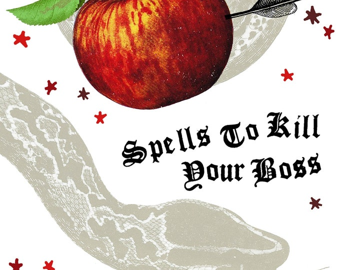 PREORDER Spells to Kill Your Boss Zine