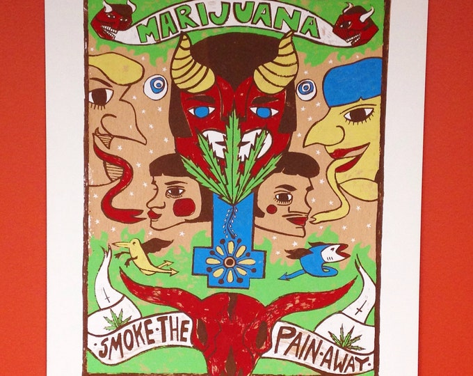 Smoke The Pain Away poster