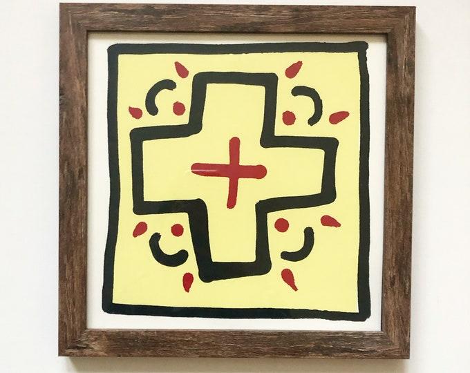 Santa Fe Cross print