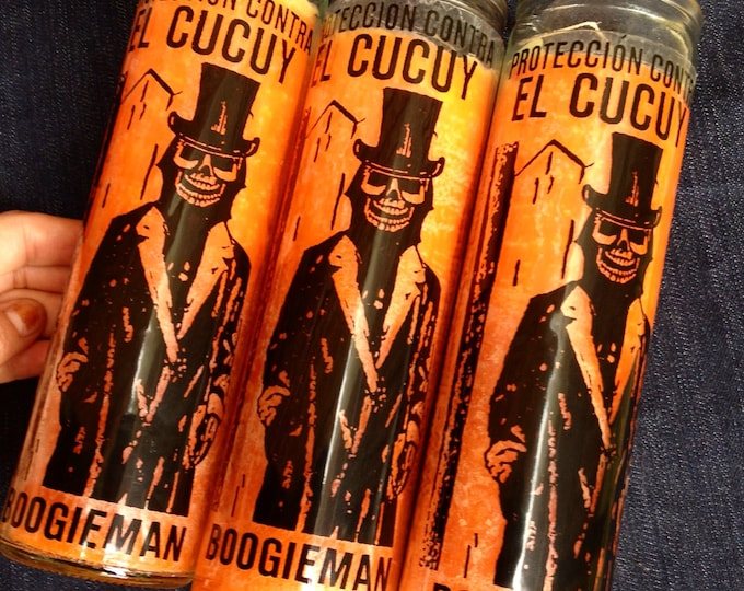 El Cucuy prayer candle