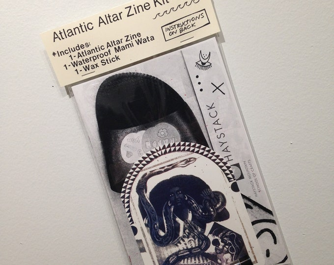 Atlantic Altar *manifestation* Zine Kit