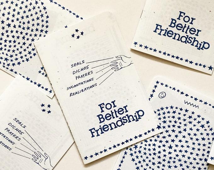 For Better Friendship Zine