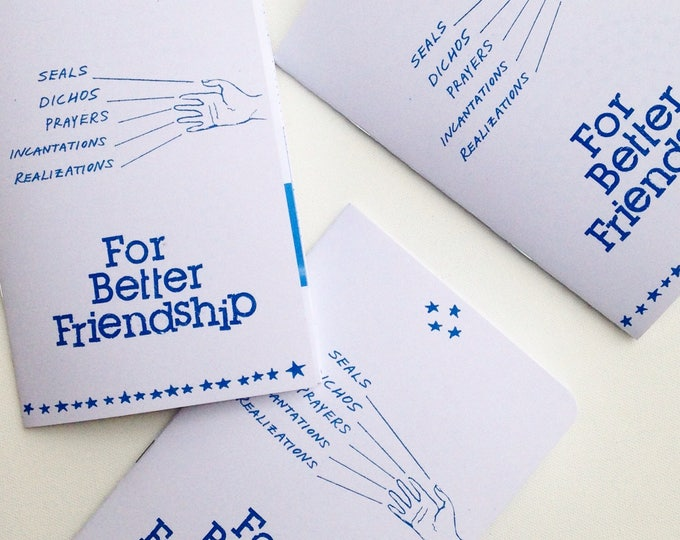 For Better Friendship Zine