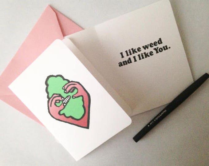 Marijuana Valentine Card *Scratch n Sniff*