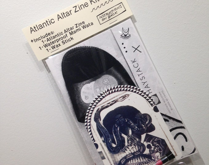 Atlantic Altar *manifestation* Zine Kit