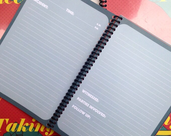 Taking Receipts: A Log of Aggression for People of Color ledger book