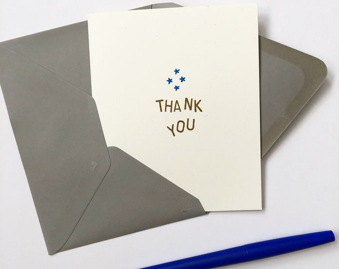 Pack of 5 Gratitude Cards
