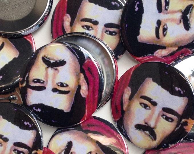 Jesus Malverde pinback button