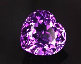 18.5 ctw. Color change amethyst loose gemstone .
