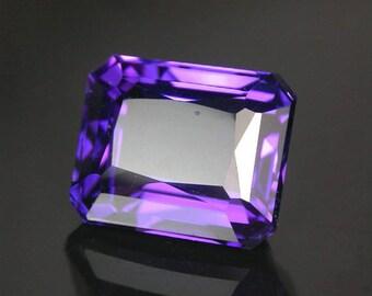 20.89 ctw. Color change amethyst loose gemstone .