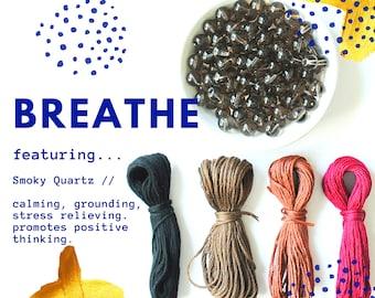 BOUNDARIES ii mala kit  stocking stuffer  meditation tool  mala beads kit  108 beads  mantra  diy mala necklace kit  amazonite