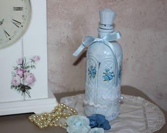 Bottle decorative Shabby chic style