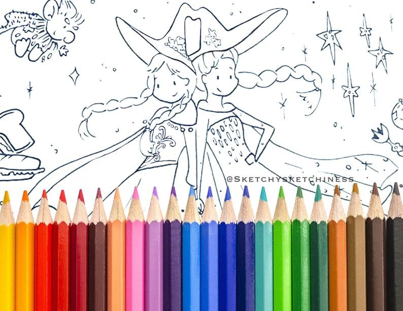 Disney Kleurplaten Blad Prinses Anna En Koningin Elsa Bevroren Met Olaf Mini Sneeuwmannen Troll En Sandwiches
