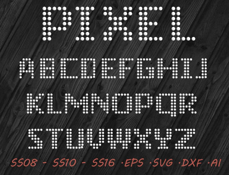 Rhinestone Thin Italic Font Dxf Ai Svg Eps Digital Template Etsy