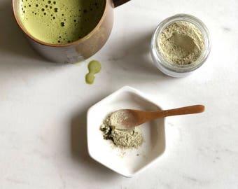 Matcha + Echinacea Clay Facial Mask || Antioxidant