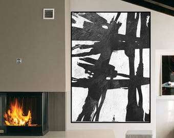 acrylic painting wall art Large abstract Painting canvas, original abstract painting, extra large wall art canvas hand painting Signed