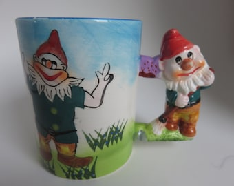 "MUG ""NAIN"" CLOWN - Vintage - 70's"