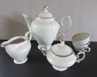 Teapot - Coffee Pot - Sugar and Milk Pot - Winterling - Bavaria - Germany - 70 '