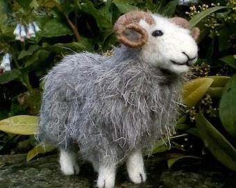 Herdwick Sheep Needle Felt Kit