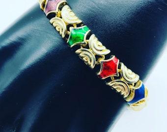 Multicoloured Vintage Bracelet