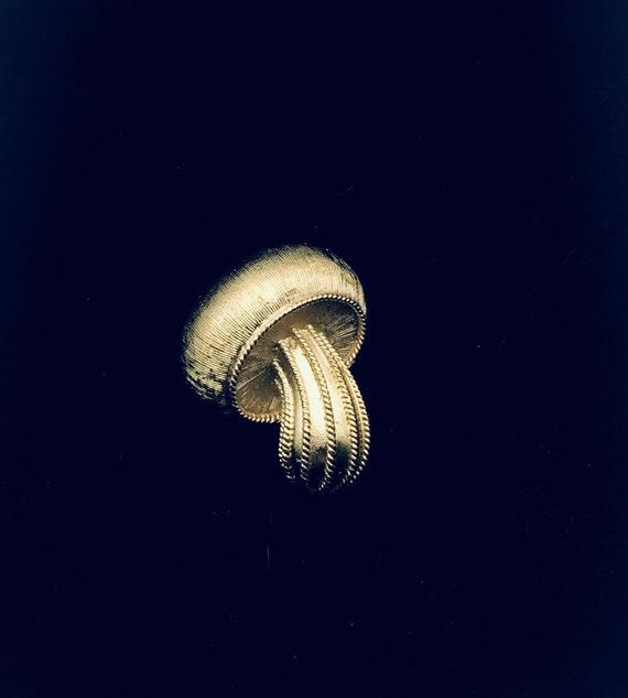 Trifari Mushroom Brooch