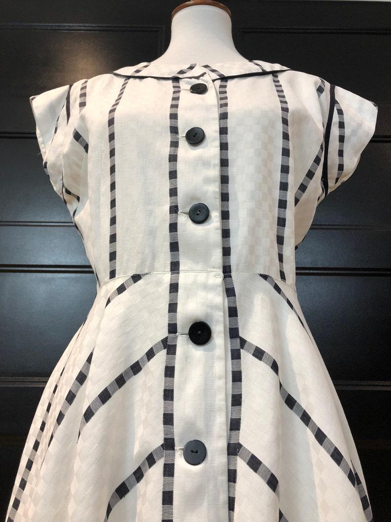 50/'s Wildman Original Crisp Button Down Dress Sz M
