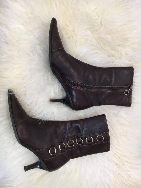 90's Joan & David Ankle Boots - image 2