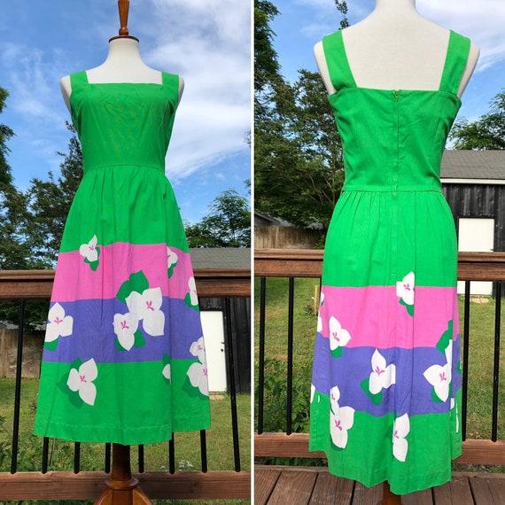 Malia Green Lily Sundress