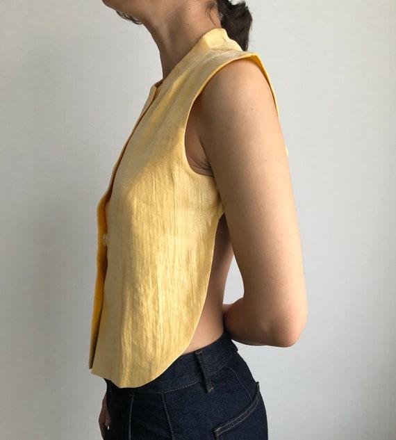 Vintage top y2k Sistan Varvara / vintage vest / Op