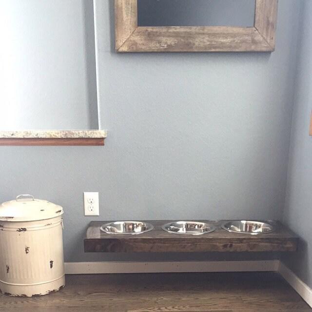 Floating Dog Bowls Raised Dog Bowls Wall Mounted