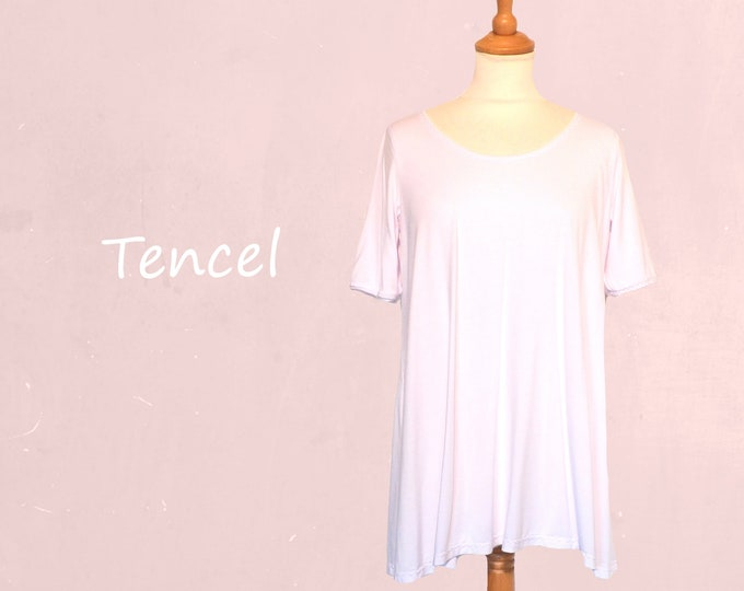 Tencel A line shirt