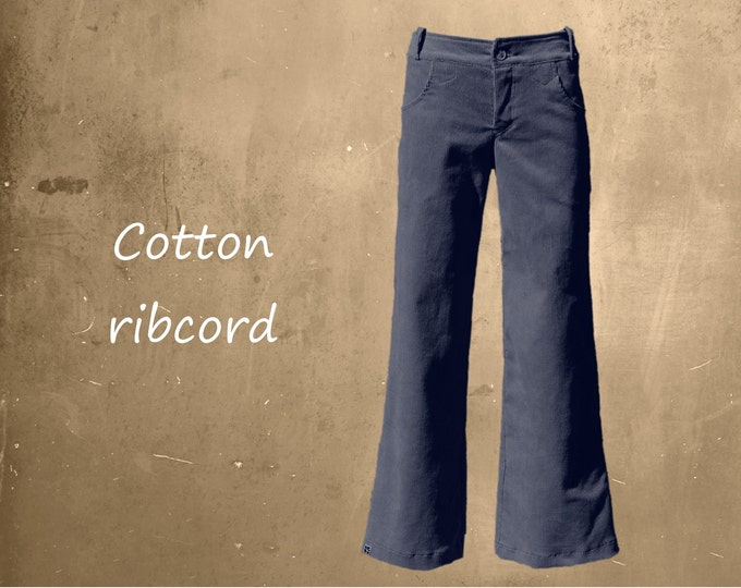 Heavy corduroy pants, Cotton ribcord pants