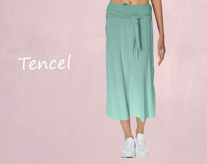 Tencel summer skirt
