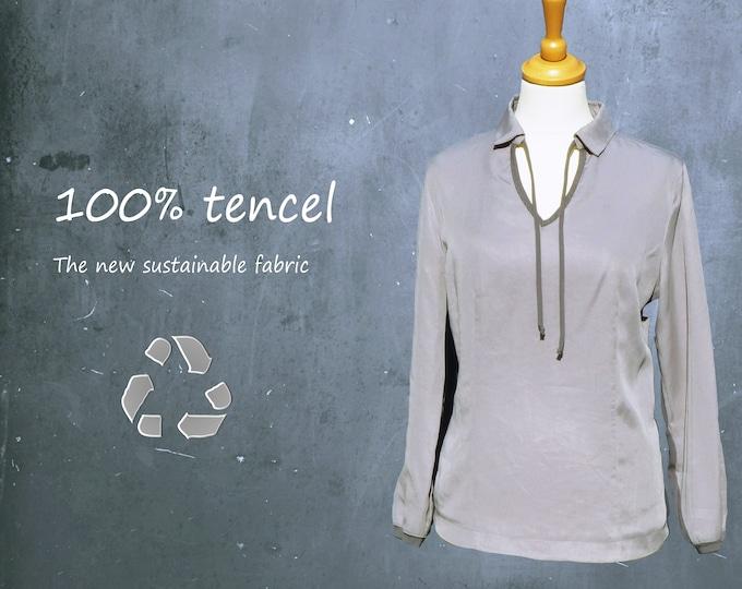 tencel blouse , tencel shirt