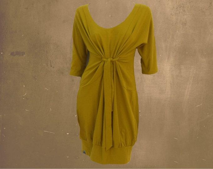 tunic organic cotton, tunic dress, GOTS certified biological cotton, sustainable tunic, fair trade tunic