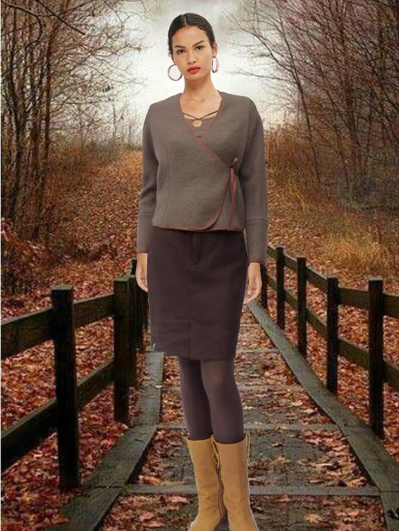 skirt biological linen GOTS certified linen skirt organic linen pencil skirt