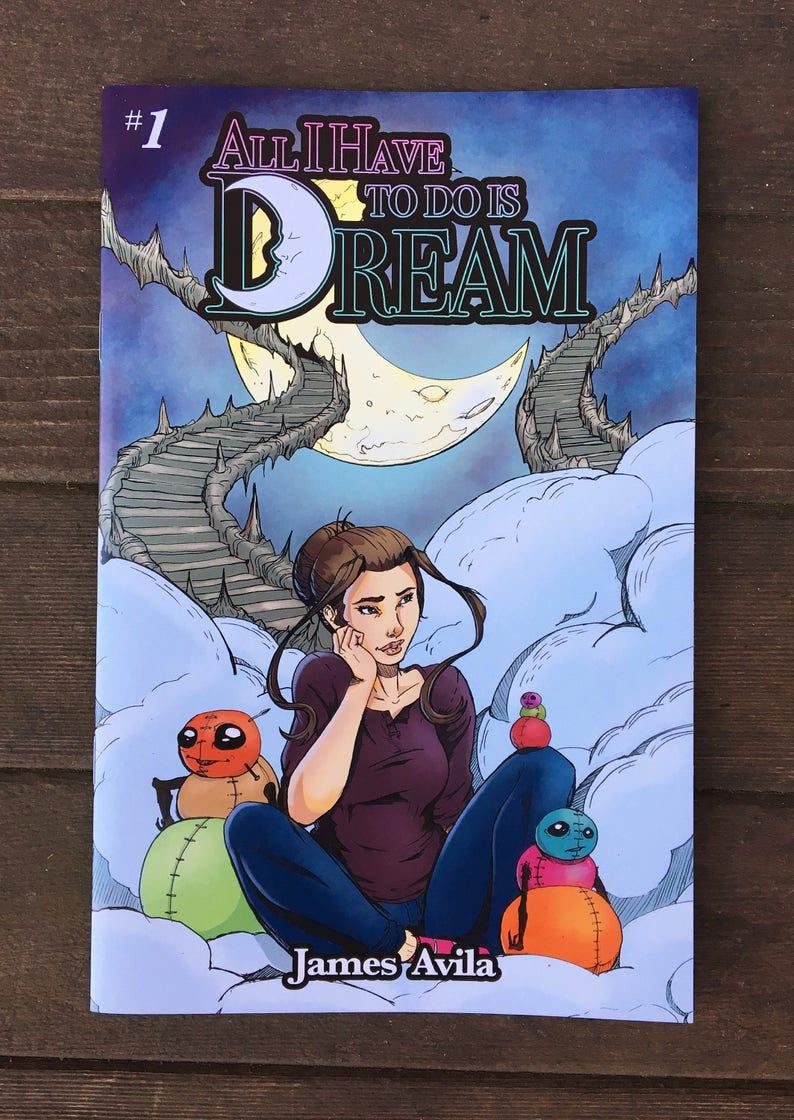All I Have to do is Dream Issue 1 image 0